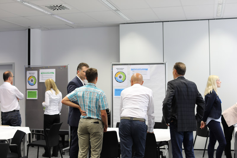 Impressionen des 4pGroup Digital Readiness Workshops